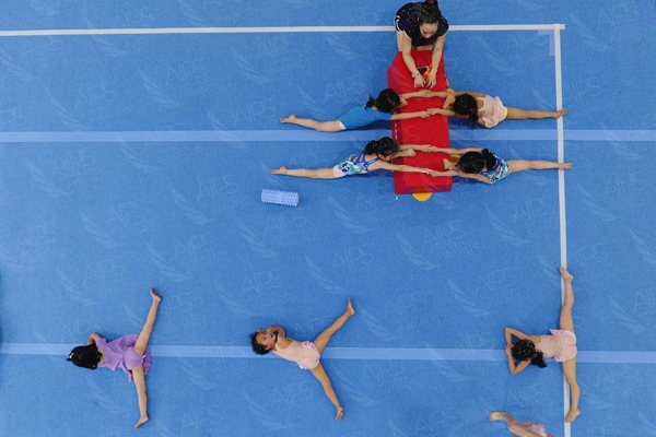 A Young Gymnasts