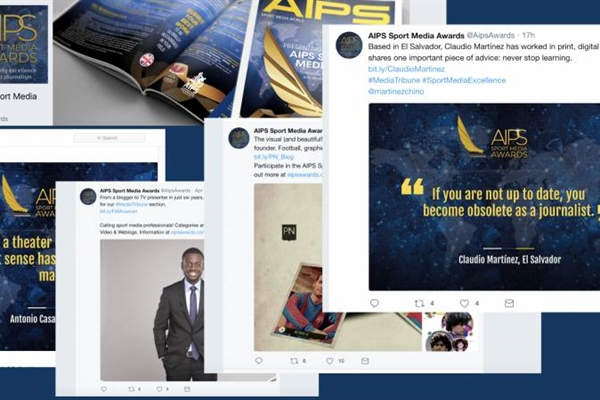 Some of the content the AIPS Sport Media Awards have produced for all platforms.