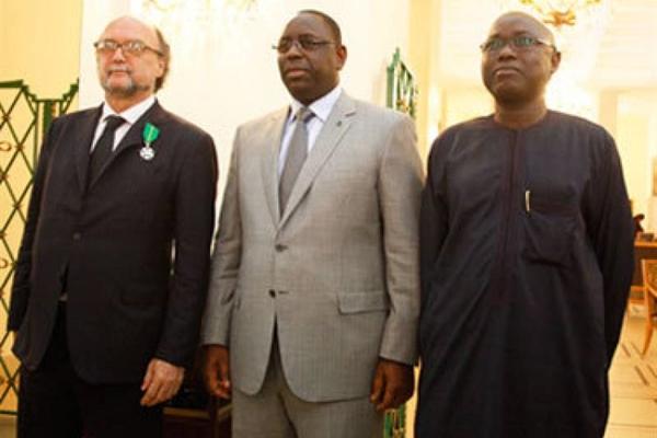 Gianni Merlo, Macky Sall, Mamadou Koumé